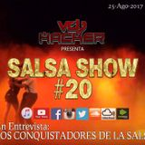 Salsashow 20 - Podcast Septiembre 2017 - Vdj Hacker