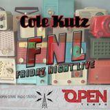 August 29 - Cole Kutz - Open Tempo FM