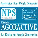 NPS Radio - AGORACTIVE émission pilote, avec Sylvain Baron, le 21.10.2016