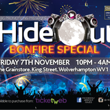 Stevie B @Hideout_raves, Friday 7th November @ The Grainstore, Wolverhampton House Mix