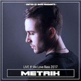 Metrik Live @ We Love Bass 2017 - San Diego, CA