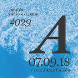 #29 Uma Espécie de Azul @ Rádio Oxigénio (07.09.18) [english version]