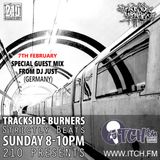 Guestmix for Trackside Burners Radio Show 7.2.16 - Beats & Vinyl only