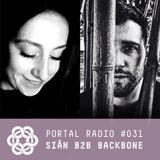Portal Radio 031 Siân b2b Backbone
