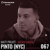 Traxsource LIVE A&R Sessions 067 - Jackin House with Matt Pruitt and Pinto (NYC)