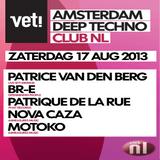 VET! Promo 17 augustus, Club NL Amsterdam