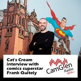 Cat's Cream interview with Frank Quitely, comic book artist, 23 Jun 2017