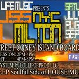 DJ Wil Milton LIVE @ Coney Island Boardwalk Bliss NYC 9.17.16 Pt 1