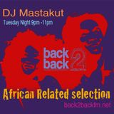 African Related selection dedicated to Hugh Masekela /B2B DJ Mastakut 2018/01/23