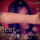 Kevin Lomax - Best of Vocal Deep house vol 20