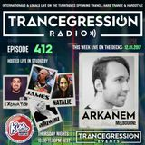 James on Trancegression 412 Kiss Fm Dance Music Australia 12/01/17