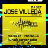 Jose Villeda + DJ SET Lunabeats Radio Edicion #171 2013-02-02