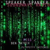 Matrix Spanks MISSJ, BEN MATRIX, FLIPPITTY SWITCHES speakerspanker soundwaveradio