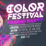 Miloš Stankić live @ BIH Color Festival Promo Party, Gradski Bazeni Brčko [CUT]