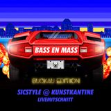 BASS EN MASS at Kunstkantine - mixed by SicStyle (Live-Recording)