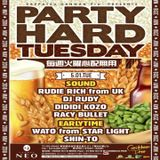 Rudie Rich Live @Club Neo In Shibuya Japan 'Party Hard Tuesday' Tokyo Japan May 2018