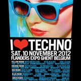 GESAFFELSTEIN - Live @ I Love Techno 2012 (Ghent, Belgium) - 10.11.2012