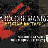 The Hardcore Grinder Live @Hardcore Maniacs-Belgian Bastards 03-12-11