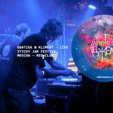 Goatika & Kliment - live at Sticky Jam Festival [RED club, Moscow] [SJM12]