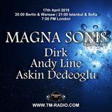 Askin Dedeoglu - Guest Mix - MAGNA SONIS 040 (17th April 2019) on TM Radio