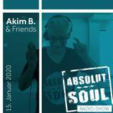 Absolut Soul Show /// 15.01.2020 on SOULPOWERfm