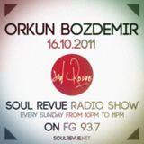 Orkun Bozdemir - FG Sunday Residents - 16.10.2011- SOUL REVUE RADIO SHOW