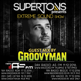 Groovyman exclusive mix for Extreme Sound show #269 with Supertons