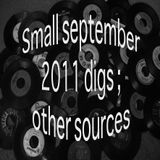 small september 2011 digs ; other sources
