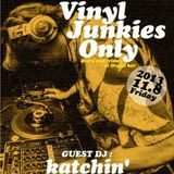 LIVE at Vinyl Junkies Only. SHIBUYA organ bar 8th Norvember 2013