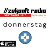 donnerstag // ZUKUNFT RADIO // September 2017 transmission