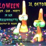 Knuspa @ Psyloween Goa Party 31.10.2014 Part1