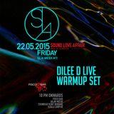 Dilee D Live Warmup Set @ SLA Week # 11 - Sound Love Affair at Pisco Bar, Kuala Lumpur 22nd May 2015