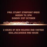 Paul Stuart Starpoint Radio - Sunday 21st October 2018