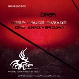 Dirk @ DeepHouseParadeRadio - 2nd Anniversary (6th March 2015)