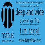 DEEP FROZEN presents 'DEEP & WIDE' - STEVE GRIFFO GRIFFITHS & GUEST TIM TONAL (NOTTINGHAM)