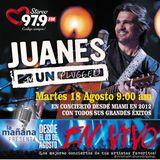 18-08-15 - #LaMañanaPresenta #ENVIVO - #Juanes #MTVUnplugged2012