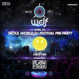 FLASH FINGER DJ Live Recording @ WDJF Pre-Party, Club Libertine, Gwangju, Korea 22nd April 2017