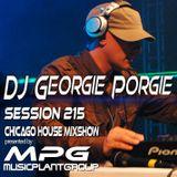 dj Georgie Porgie MPG Radio Show 215
