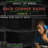 BACK CORNER RADIO: Episode #295 (Nov 2nd 2017)