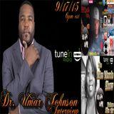 Dr Umar Johnson Interview The Change Of Black America on WPIR 98.4Fm