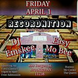 DJ EMSKEE LIVE 2ND SET FROM THE ALL VINYL RECORDNITION PARTY @ BERG'N IN BROOKLYN, NYC - 4/1/16