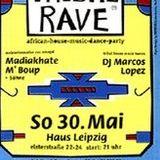 TRIBAL RAVE Leipzig -- 30.mai.1993 -- (12min.34 von Rave Satellite mit MARCOS LOPEZ)