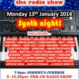 THE JOHNNY NORMAL RADIO SHOW 34 - 13TH JANUARY 2014