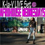 AFROHOUSE WEDNESDAYS Live Set @ the Au Lounge in Oakland