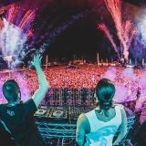 Dimitri Vegas & Like Mike @ North/South Stage, Creamfields UK 2014-08-24