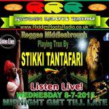 REGGAE M  PLAYS STIKKI TANTAFARI 6-7-2015