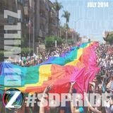 DJ WILL Z - #SDPRIDE2014