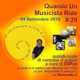 QUANDO UN MUSICISTA RIDE # 29 - 05/09/18