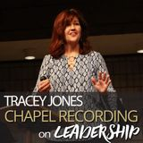 Tracey Jones on Leadership 9/19/17