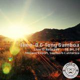 Thee-O & Tony Gamboa - Live At Release (10/04/2014)
